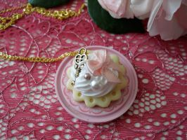 Hime Sweets Necklace by kawaiifriendscafe