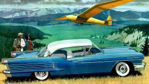 age of chrome and fins : 1958 Oldsmobile by Peterhoff3