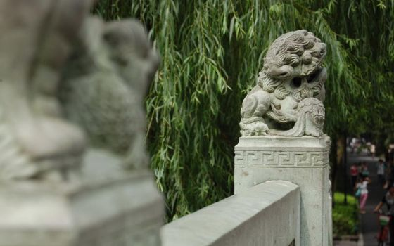 A Chinese Stone Lion by lackar