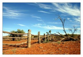 Outback Stock Yard by findshorty