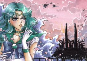 ACEO #08 Sailor Neptune by MTToto