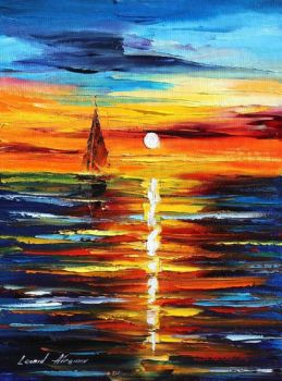 Far Dreams by Leonid Afremov by Leonidafremov