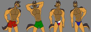 Gunther's Underwear by MetalExveemon