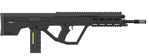 AR10 6.7mm MWS Service Rifle - Production Variant by SixthCircle