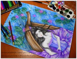 Lady of Shalott by Yawannka
