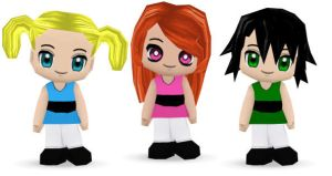 Buddy Poke Powerpuff Girls by WhoaItsButtercup