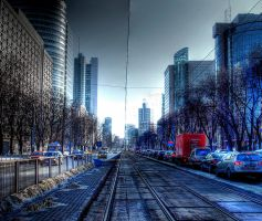 rush hours HDR by HeretyczkaA