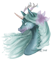 Neopets Trade: Lyshell the Water Uni by Blesses