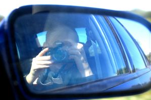 Creepy in the Car with a Camera by Creepyland