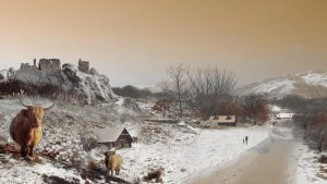 Snow Scene Composite by xxx-karina-xxx