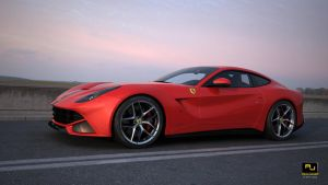 Ferrari F12 by RJamp