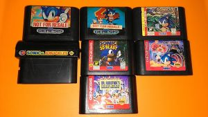 Sonic Genesis Games My collection by DmanB