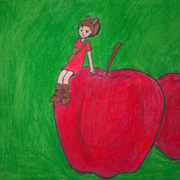 Apples and Arrietty 800x800 by geek96boolean10