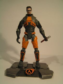 Gordon freeman Action Figure 3 by Taylor-made