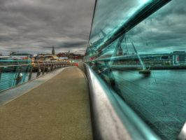 blue glass by derrybarry