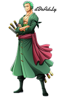 Roronoa Zoro Time Skip Render By dDeAdLy by dDeAdLy