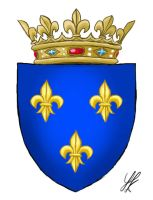 French Royal Family Coat of Arms by Darkie90