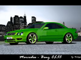 Mercedes Benz CL55 by thehppBG
