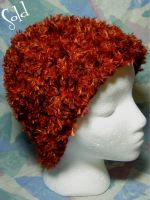My Head's On Fire -Red- Hat by SmilingMoonCreations