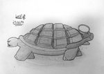 Day #6: Grenade Turtle by Qazmax