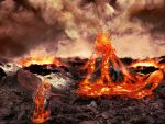 The Lava flower landscape by MindTuber