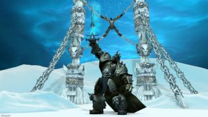 Lichking C4D wallpaper by xCustomGraphix