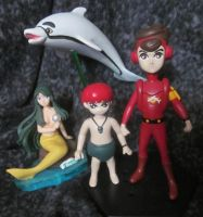 Marine Boy custom toy figures by TeenTitans4Evr