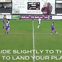 slide to make me land during a soccer game by boeingboeing2