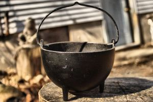 Another View. Cauldron Stock by Moon-WillowStock