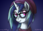 Hipster Vinyl Scratch (Redrawn) by TurboSolid