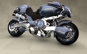 MAXON Bike - Cinebench 10.0 by Dracu-Teufel666