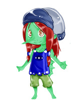 Chibi Capoty by LadyDeathAndPain