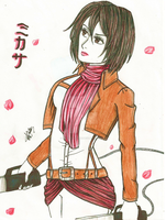 Mikasa by red-lawliet95