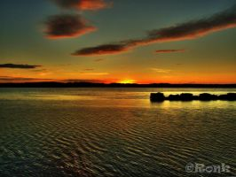 Sunset in Portugal by Ronkishe