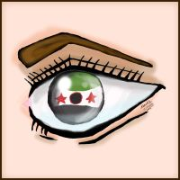 Free Syrian eye by moslem-d