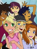 6teen Groupies COLOURED by daanton