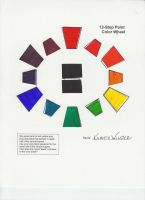 Color Wheel assignment by KGWilder