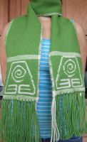 Earth Bending Scarf by ashesonfire