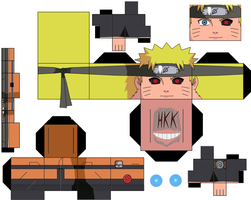 Naruto Evil Half by hollowkingking