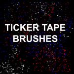 Ticker Tape Brushes by thomasdyke