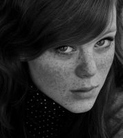 Girl with freckels 6 by berghet