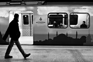 istanbul metro by Mithgor