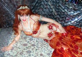 Sofia Metal Queen - bellydance star - b-day party by SOFIAMETALQUEEN