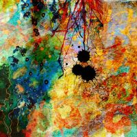 Abstract v1 by marjol3in
