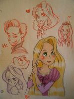 Tangled_Doodle by asami-h