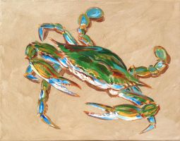 Blue crab-4 by samtaylor5