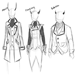 rough sketches by classydove