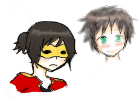 First 2 paintchat sketches by Manhoes-And-Mangoes