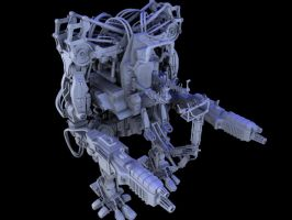 Mech from revolutions by lebowitz