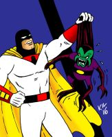 Curse you Space Ghost! by Koku-chan